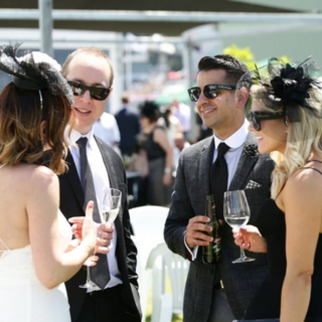 Home Straight Enclosure - Melbourne Cup Carnival