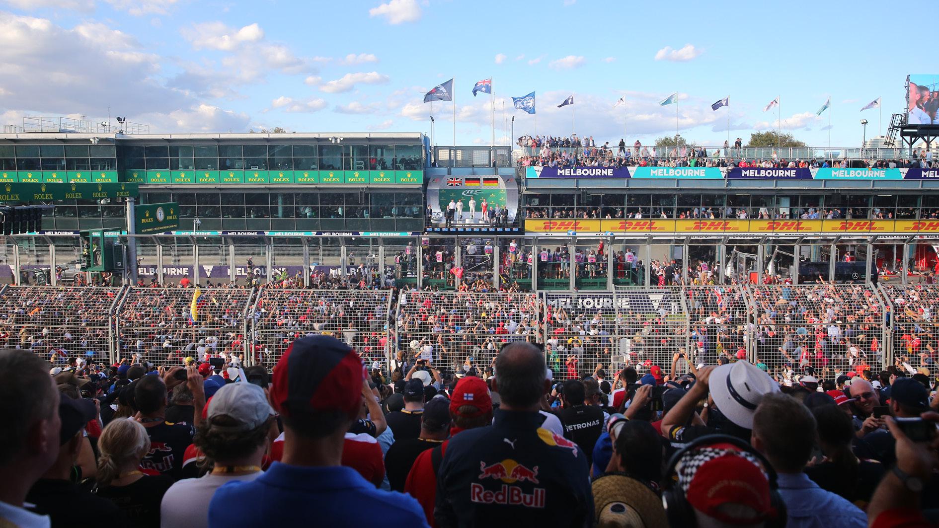 Formula 1 Australian Grand Prix packages Albert Park Melbourne
