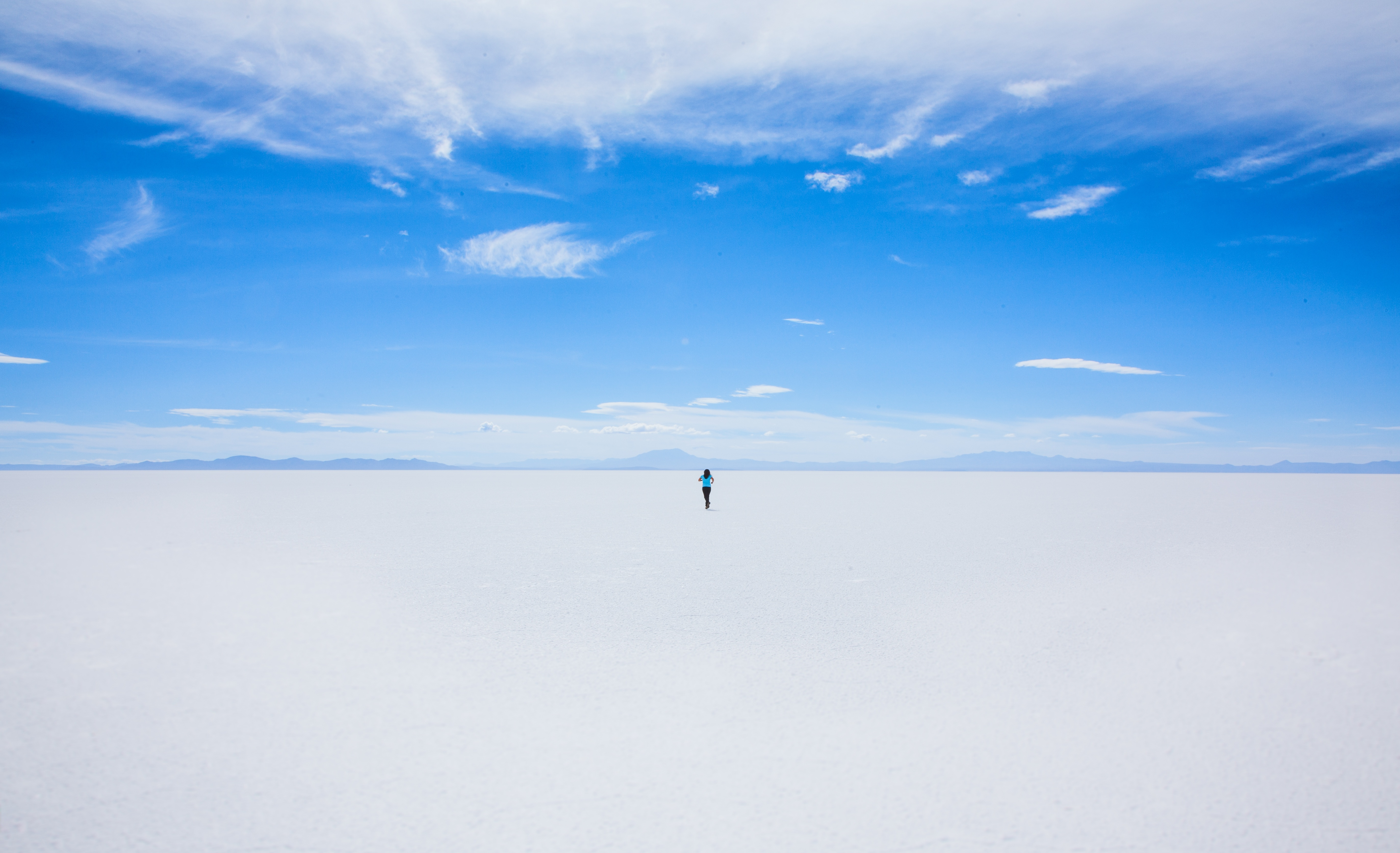 bolivian salt lakes south america