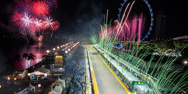 a great christmas gift idea - tickets to the Singapore Grand Prix