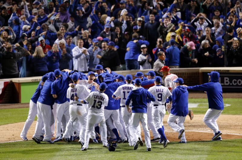 Chicago Cubs win the World Series greatest sporting moments 4