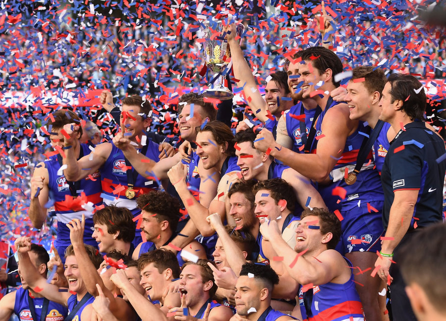 Western Bulldogs win the AFL Grand Final greatest sporting moments 3