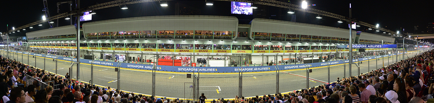 Singapore Grand Prix Tickets - pit granstand view