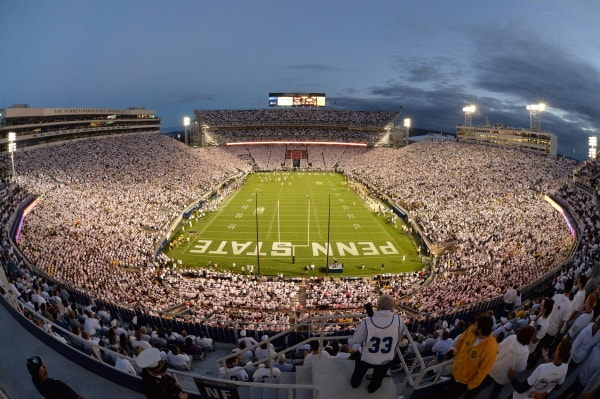 Beaver Stadium - Worlds biggest stadium