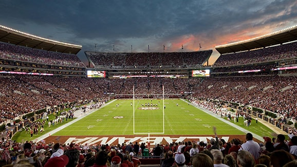 Bryant Denny Stadium worlds biggest stadiums