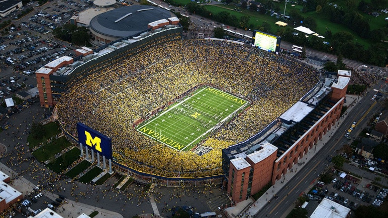 Michigan Stadium - Biggest Stadium in the world