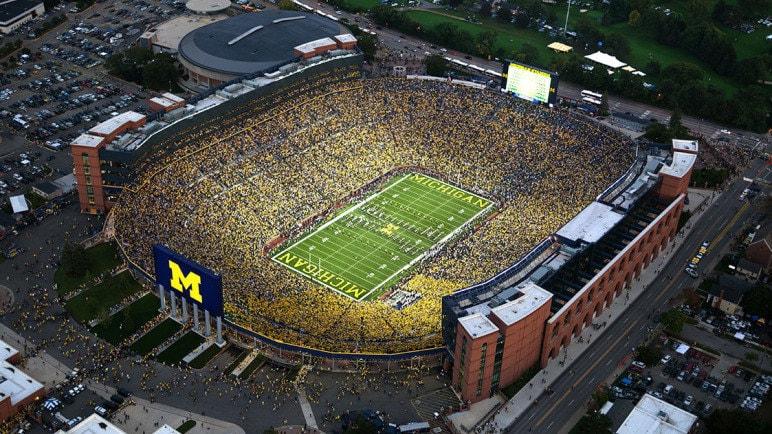 Michigan Stadium - Biggest Stadium in the world