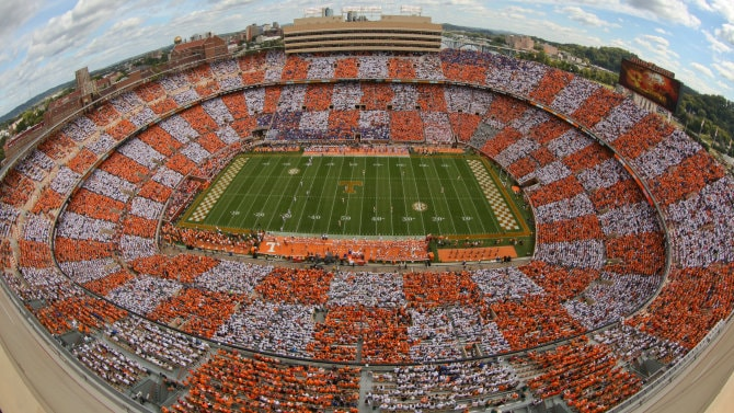 Neyland Stadium worlds biggest stadiums