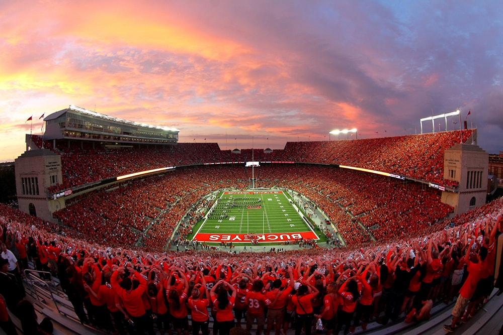 ohio stadium - the worlds biggest stadium