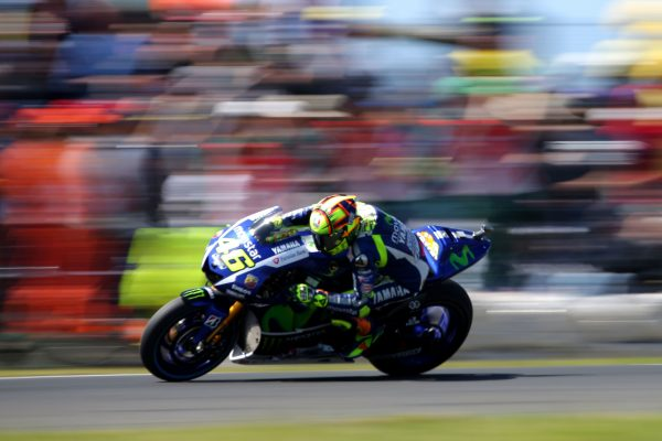 Action shot of the track - motorgp australia tickets