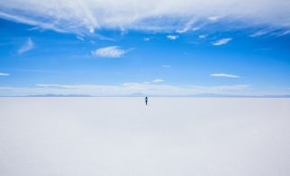 bolivian salt lakes south america