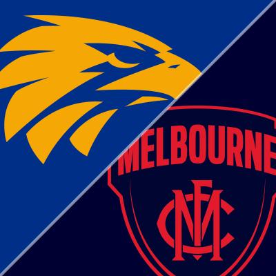 Round 1 - West Coast Eagles v Melbourne