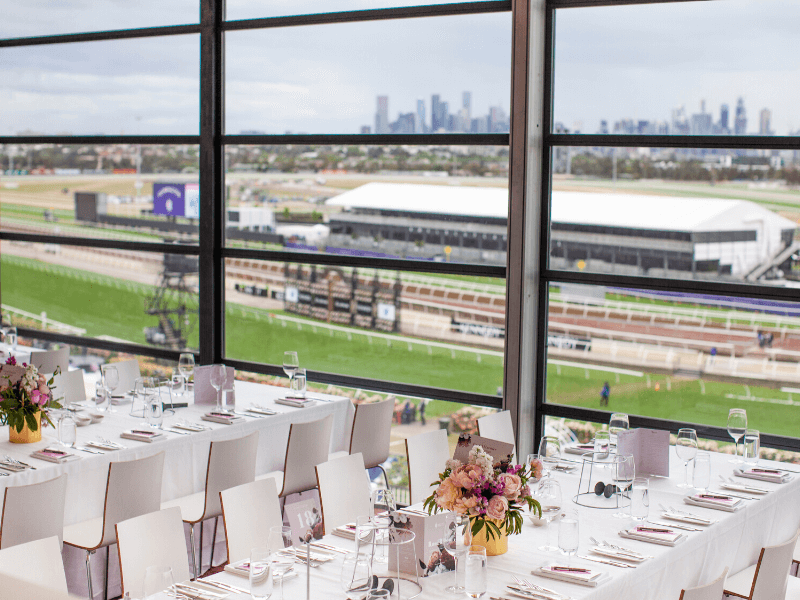 the rose room at the melbourne cup