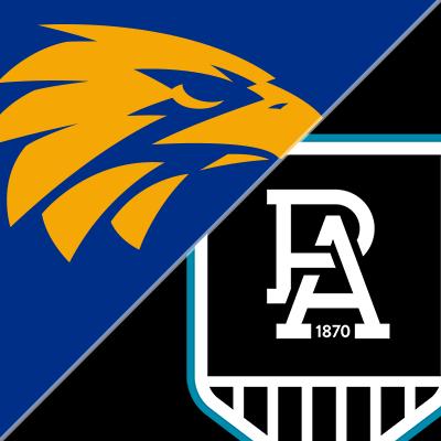 Round 20 - West Coast Eagles v Port Adelaide